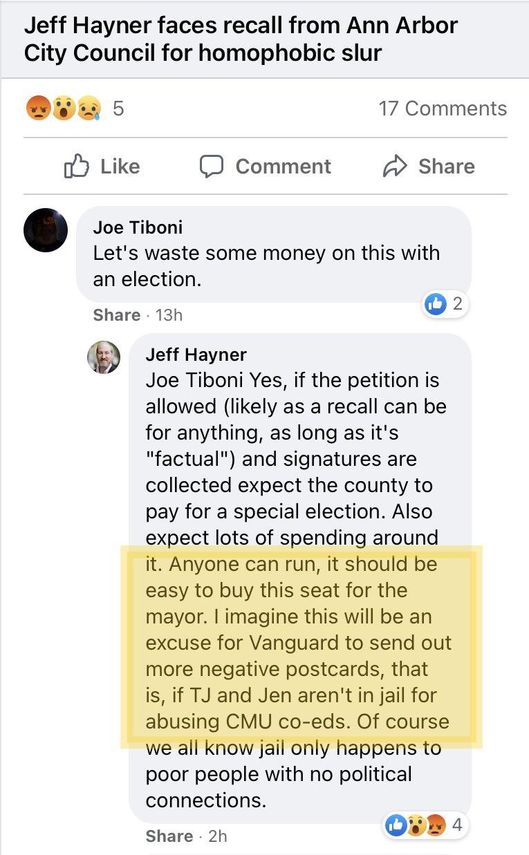 jeff hayner recall